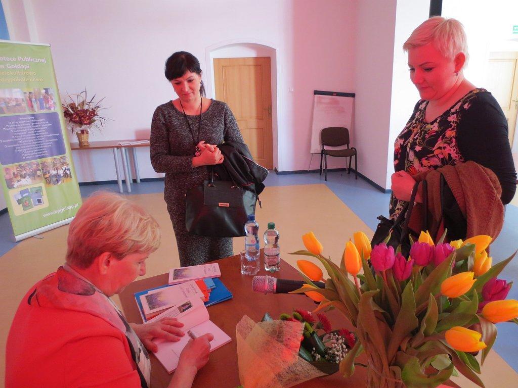Spotkanie autorskie z Urszulą Wrzosek _8