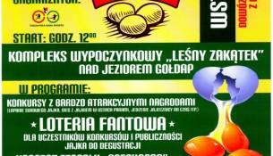 12 lipca Święto Jajka po raz piąty plakat