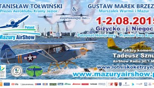 Mazury AirShow 2015 (baner)