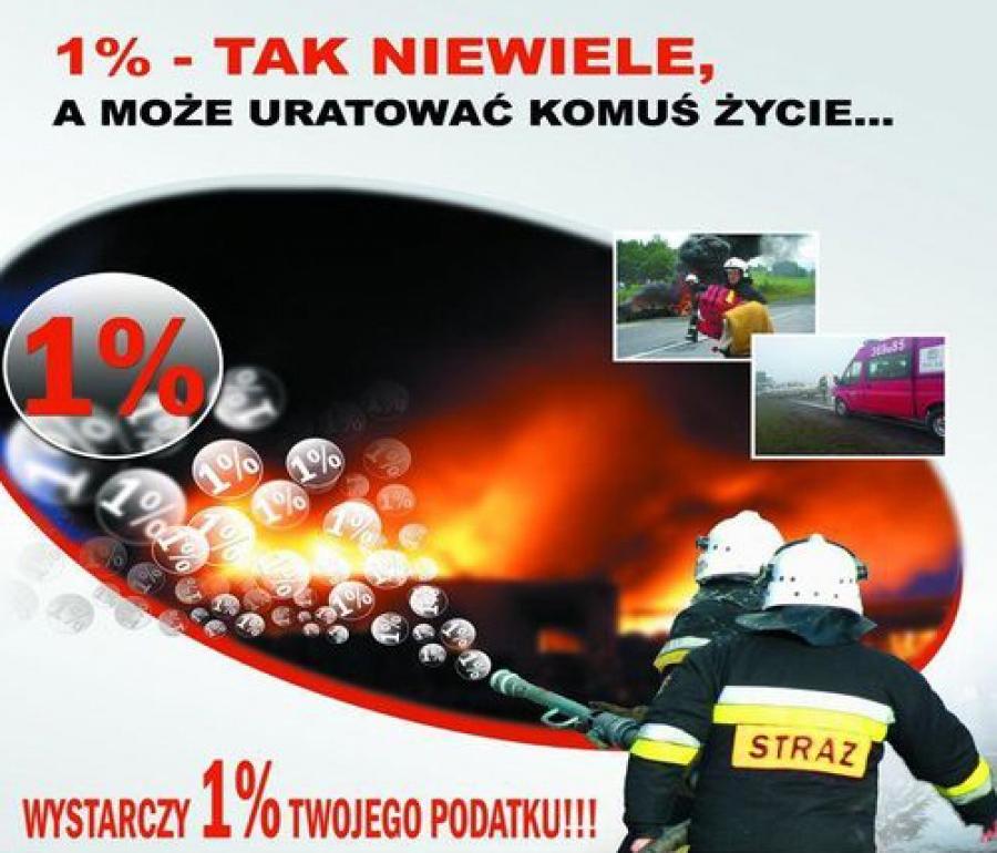 Straż pożarna 1%