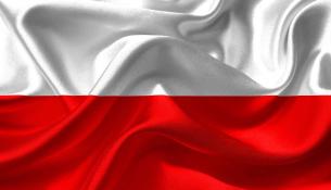 Flaga Polski z materiału