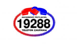 """Logo: Telefon Zaufania """"Anonimowy Przyjaciel"""" 19 288"""