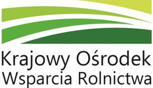 Logo: Krajowy Ośrodek Wsparcia Rolnictwa