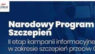 Narodowym Programie Szczepień - II etap kampanii informacyjnej