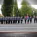 Policjanci ustawieni w szeregu podczas obchodów Święta Policji