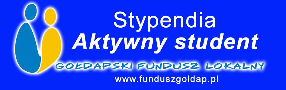 """Stowarzyszenie Gołdapski Fundusz Lokalny ogłasza nabór wniosków w ramach programu stypendialnego """"Aktywny student 2021""""."""